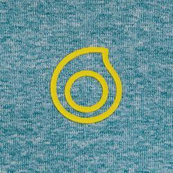 Top néoprène de snorkeling 1,5mm 900 enfant bleu jaune