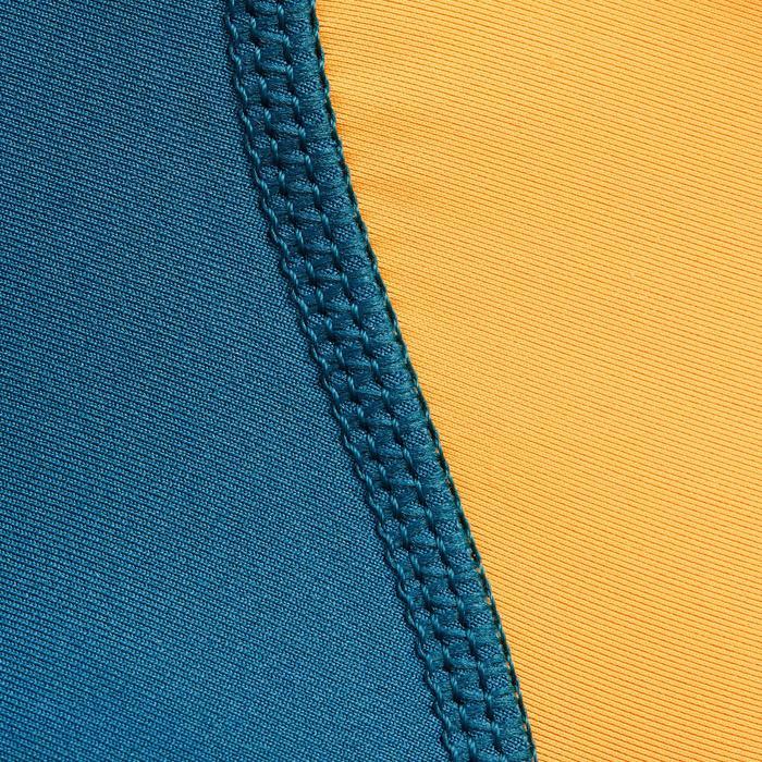 900 1.5mm kids neoprene snorkelling top blue yellow - 1324401