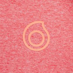 兒童款1.5mm浮潛上衣900-珊瑚粉色