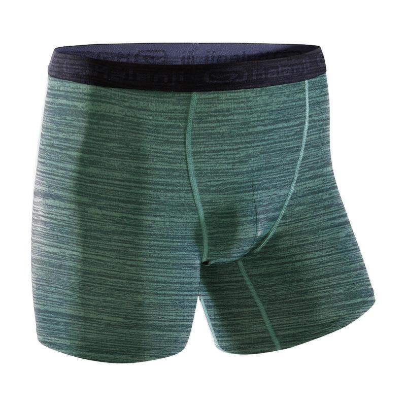 38f841d694a8 All Sports>Running>Running Clothing>Running Underwear>MEN'S BREATHABLE  RUNNING BOXERS - MOTTLED KHAKI