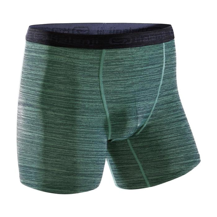 Men's Running Breathable Boxers Prussian Blue - 1324442