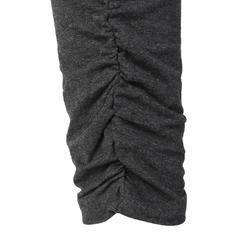女式瑜珈生態棉七分褲 - 修身款