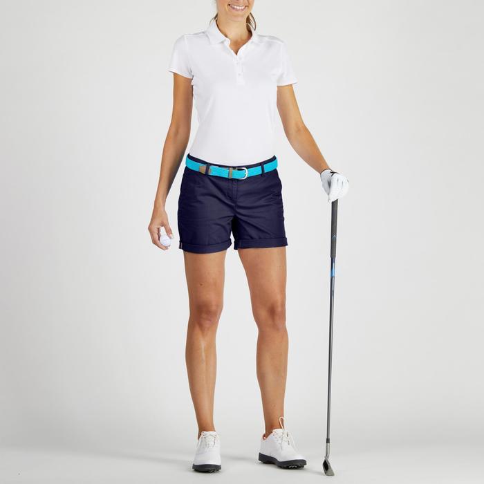 Golf Bermuda Shorts 500 Damen marine