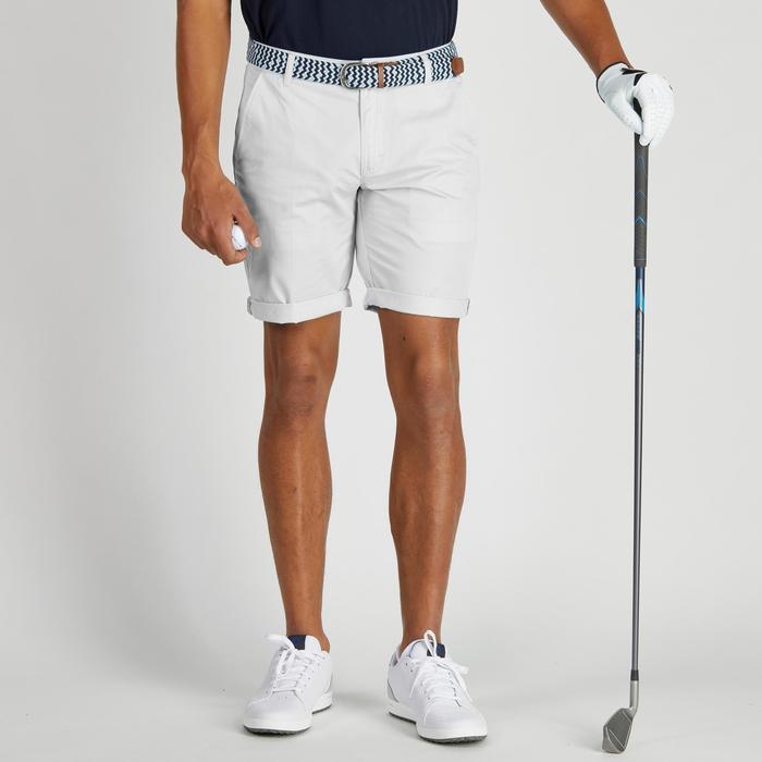 Bermudas de golf hombre 500 tiempo templado gris
