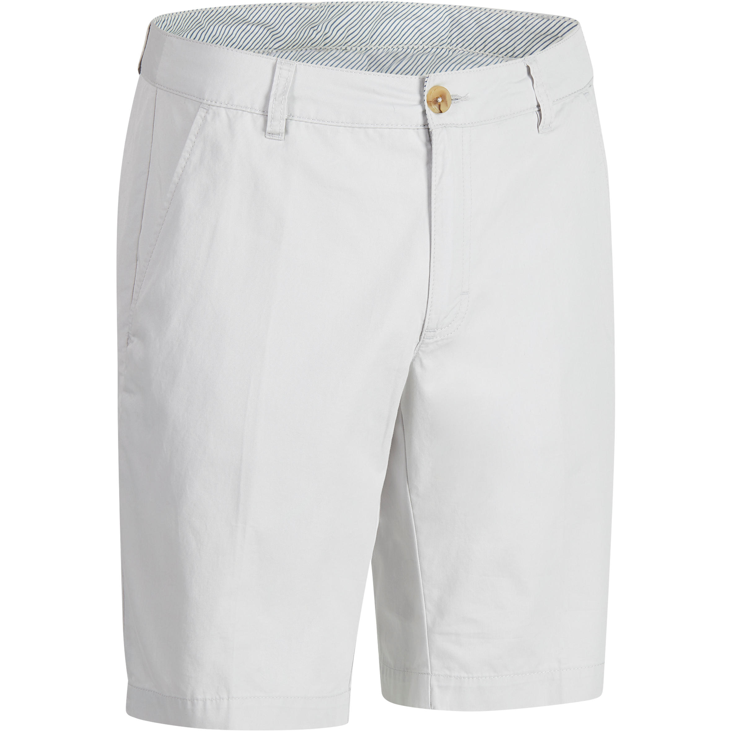 Bermudas de golf hombre 500 clima caluroso gris