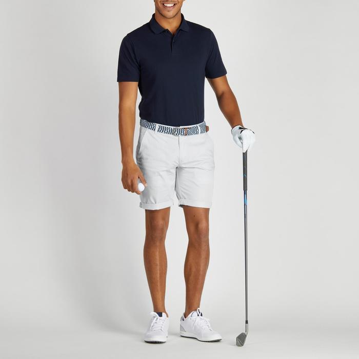 Golfbermuda 500 voor heren, zacht weer, grijs