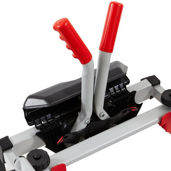 Fietsendrager voor trekhaak TowVoyage Rapid 7-polig 3 fietsen