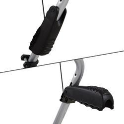 Fietsendrager voor achterklep ClipOn TH9104 voor 3 fietsen