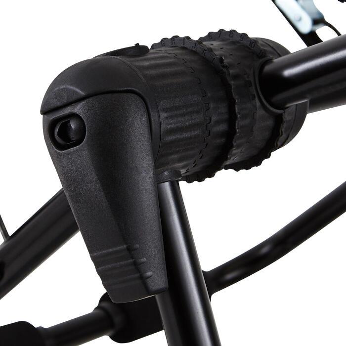 Fietsendrager voor op achterklep auto - model 320 3 fietsen