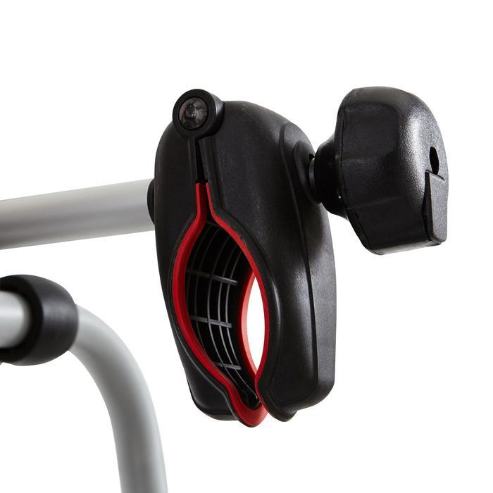 Porte-vélos attelage TowVoyage Rapid 7 broches 4 vélos