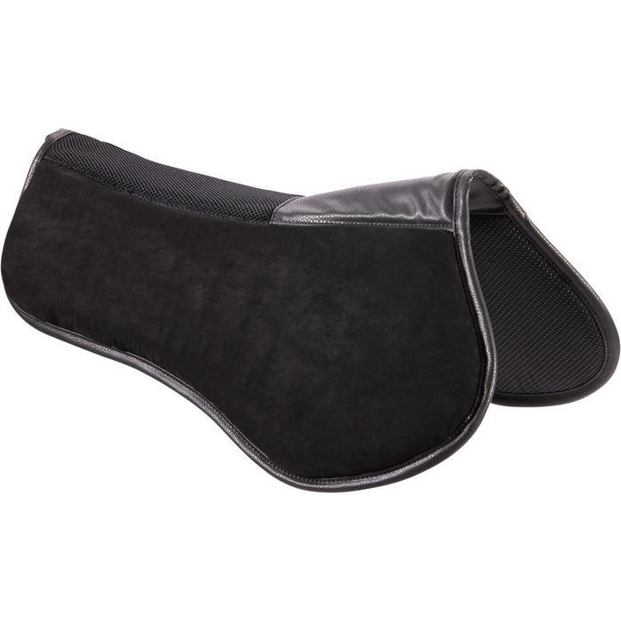 Sattelpad 500 Schaumstoff Pony/Pferd schwarz