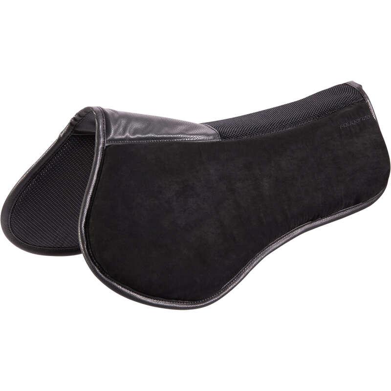 Marvédő Lovaglás - Nyeregemelő 500-as, fekete FOUGANZA - Lovas ajánlatok