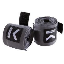 100 Boxing Wraps 2.5 m - Grey