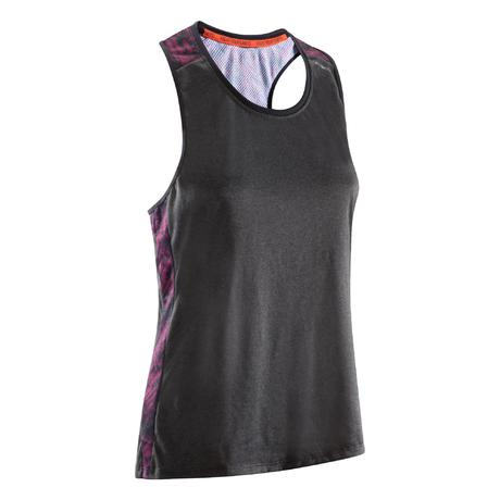 0855f223 500 Women's Lightweight Breathable Boxing Tank Top   Domyos by Decathlon