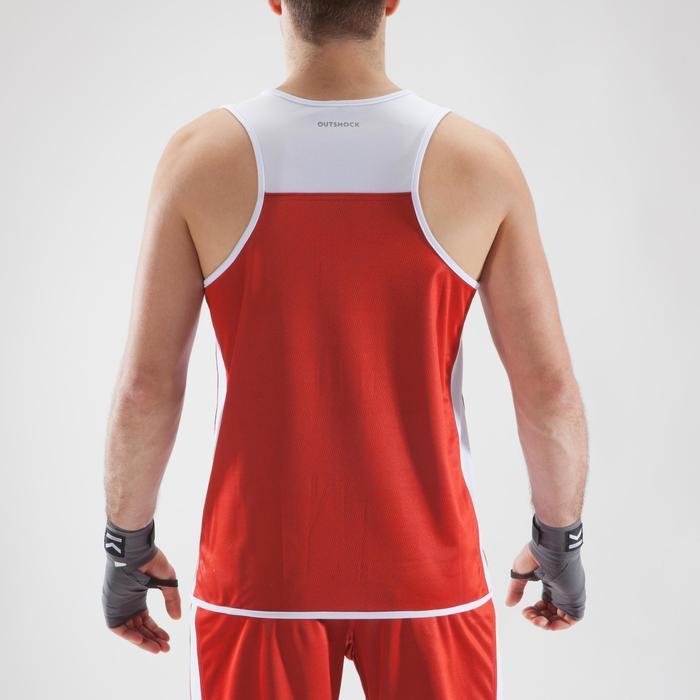 Boxshirt wendbar Wettkampf 900 Erwachsene
