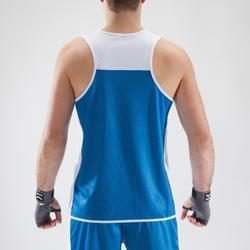 Boksshirt 900 volwassenen omkeerbaar, geschikt voor bokswedstrijden