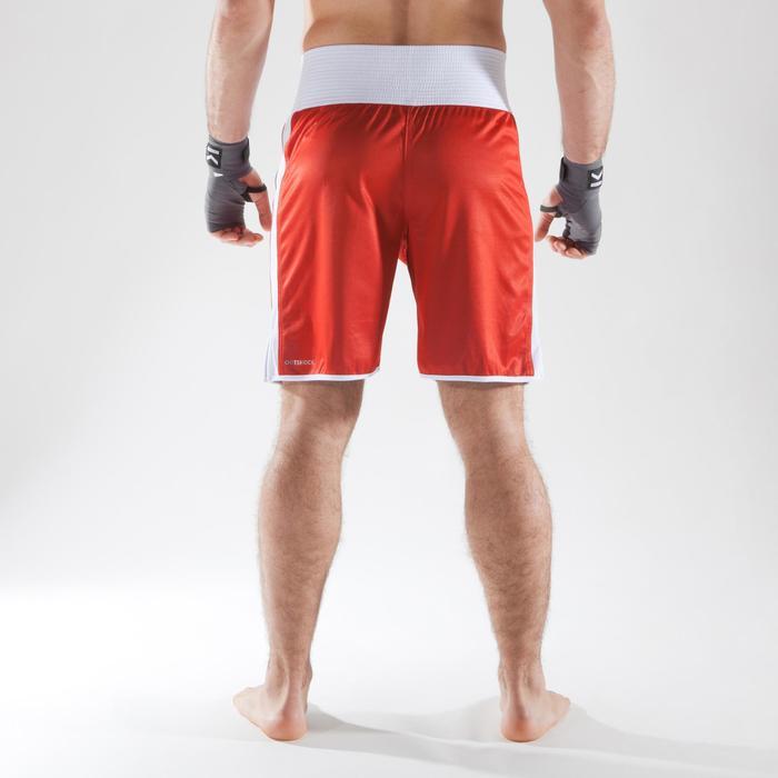 Boksshort 900 volwassenen omkeerbaar, geschikt voor bokswedstrijden