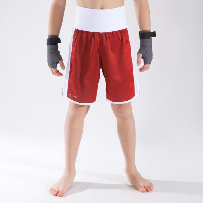 Boxhose 900 wendbar Wettkampfboxen Kinder