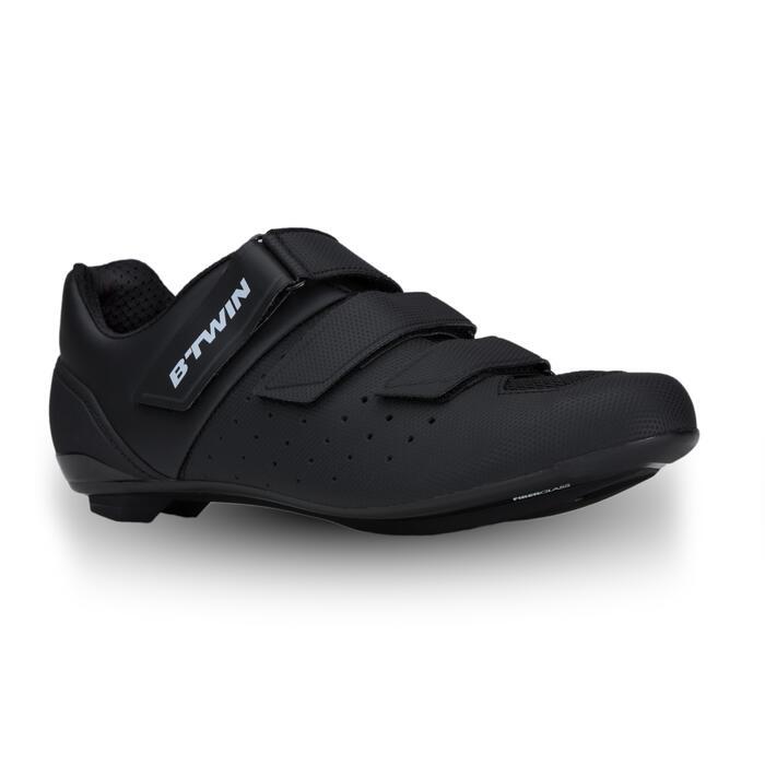 Fietsschoenen racefiets RoadRacing 500 zwart - 1325018