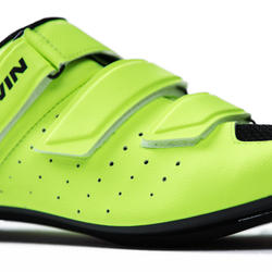 500 Sport Cycling Road Cycling Shoes - Neon Yellow