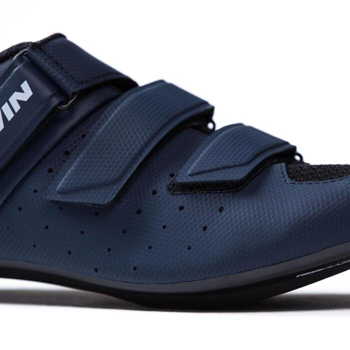 Fahrrad-Schuhe Rennrad RR 500 marineblau