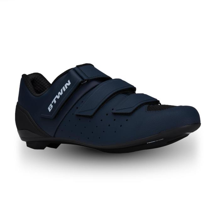 Zapatillas ciclismo carretera RoadRacing 500 AZUL MARINO