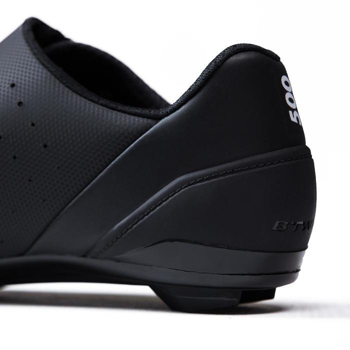 Fietsschoenen racefiets RoadRacing 500 zwart - 1325028