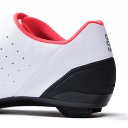 500 Sport Cycling Road Cycling Shoes - Pink/White