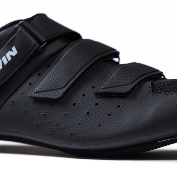 Fahrrad-Schuhe Rennrad RR 500 schwarz