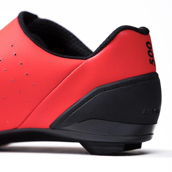 Chaussures vélo route RoadRacing 500 ROUGE
