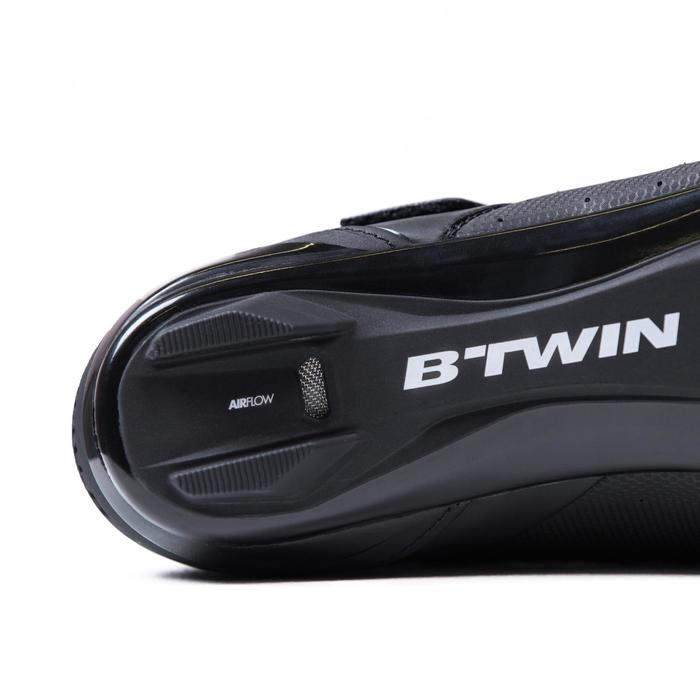 Fietsschoenen racefiets RoadRacing 500 zwart - 1325042