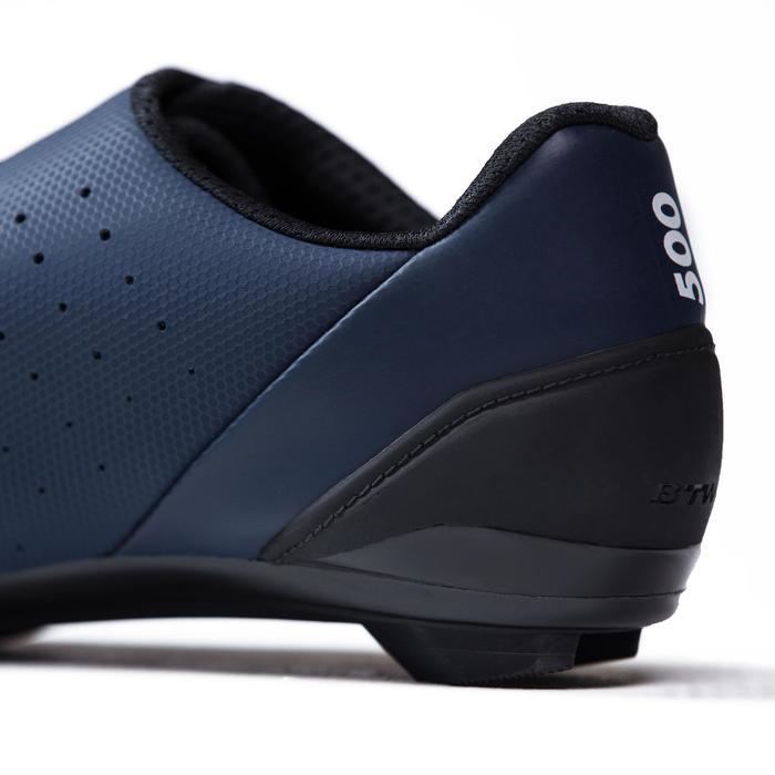 Chaussures vélo route RoadRacing 500 BLEU MARINE