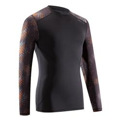 RASHGUARD GRAPPLING OUTSHOCK 100 NEGRO