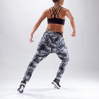 Pantalón carrot gris para danza para mujer