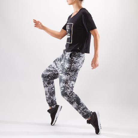 T-shirt court de danse femme noir. Previous. Next 420e0babb23