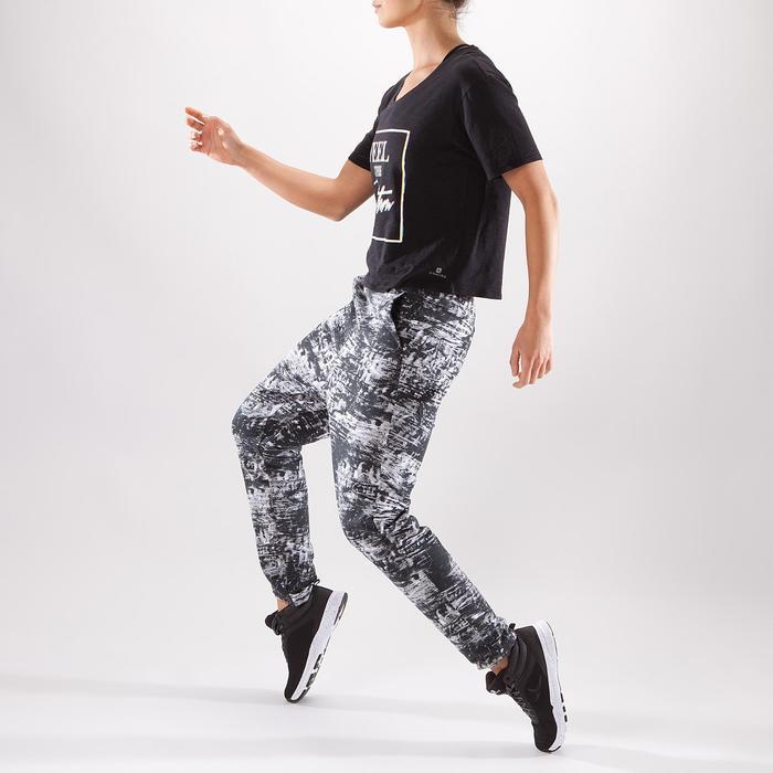 T-shirt court de danse femme - 1325109