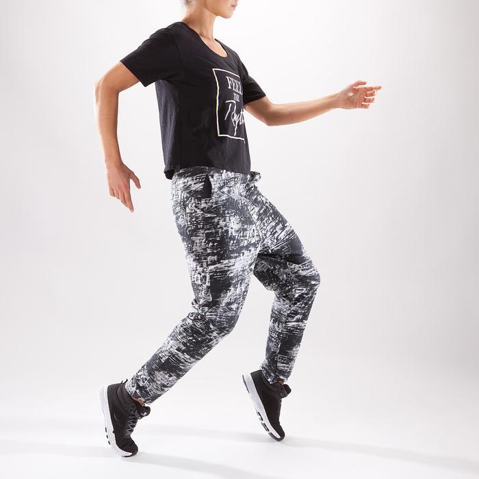 T-shirt court de danse femme - 1325115