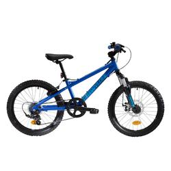 Kindermountainbike 20 inch, 6-8 jaar, Wyldee 20, blauw