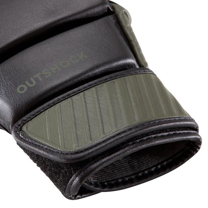 Zakhandschoenen 100, zwart/kaki