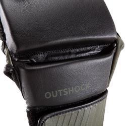 MITONES DE COMBATE OUTSHOCK 100 NEGRO/CAQUI