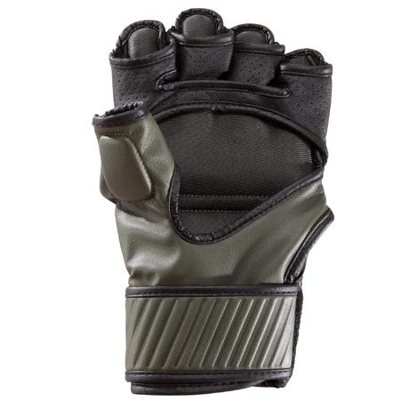 f8ab774410d4b Gants, bandes. › MITAINES DE COMBAT 100 NOIR/KAKI. Previous. Next