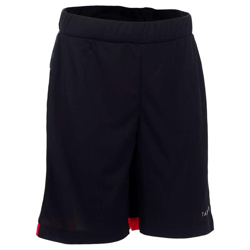 KIDS BASKETBALL OUTFIT - B500 Kids' Shorts Black Grey TARMAK