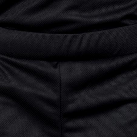 B500 Kids' Basketball Shorts for Intermediate Players - Black/Digital Grey