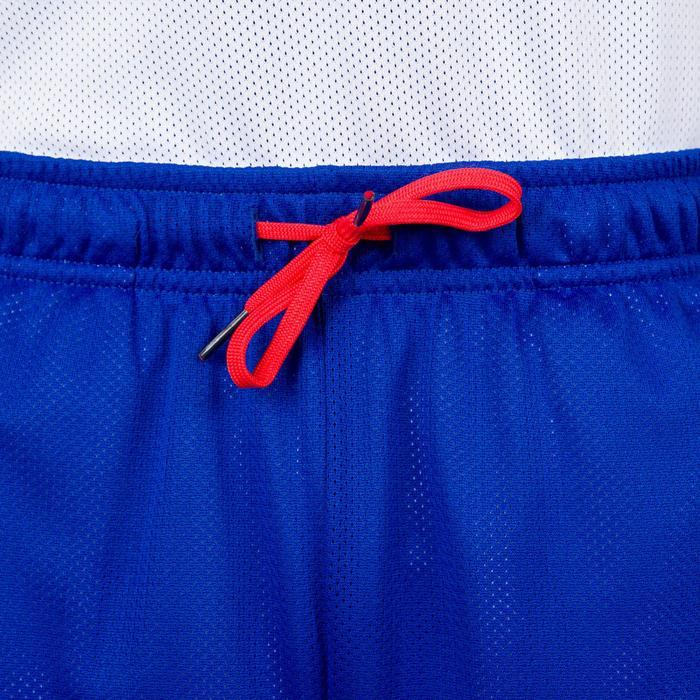 Basketball Wendeshorts Jungen/Mädchen Fortgeschrittene blau/weiß