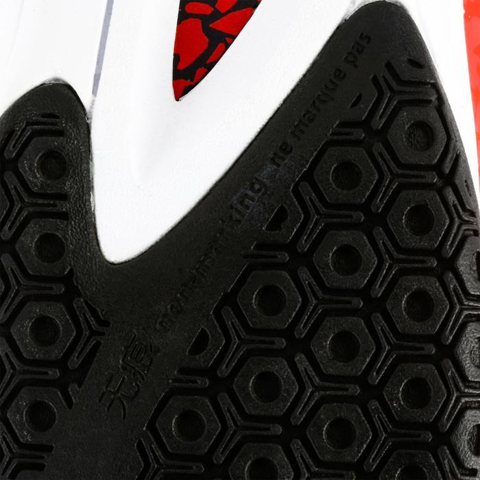 Chaussures de Handball H500 adulte noires et rouges - 1325455