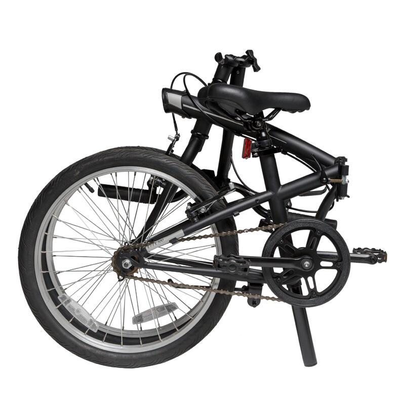 """20"""" Tilt 100 Black Folding Bike"""