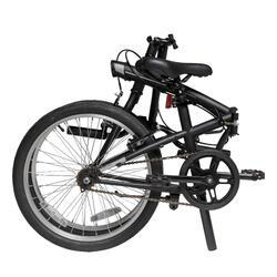 20吋摺疊自行車Tilt 100 - 黑色