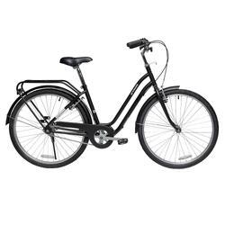 """26"""" Elops 100 City Bike - Black"""
