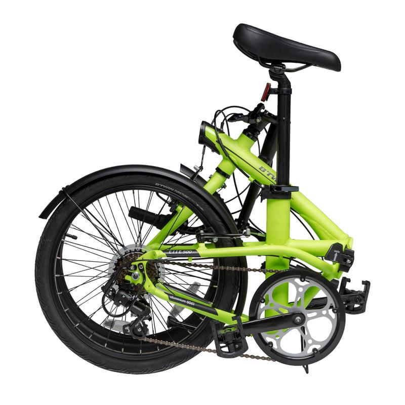 "Tilt 500 20"" Folding Bike - Yellow"