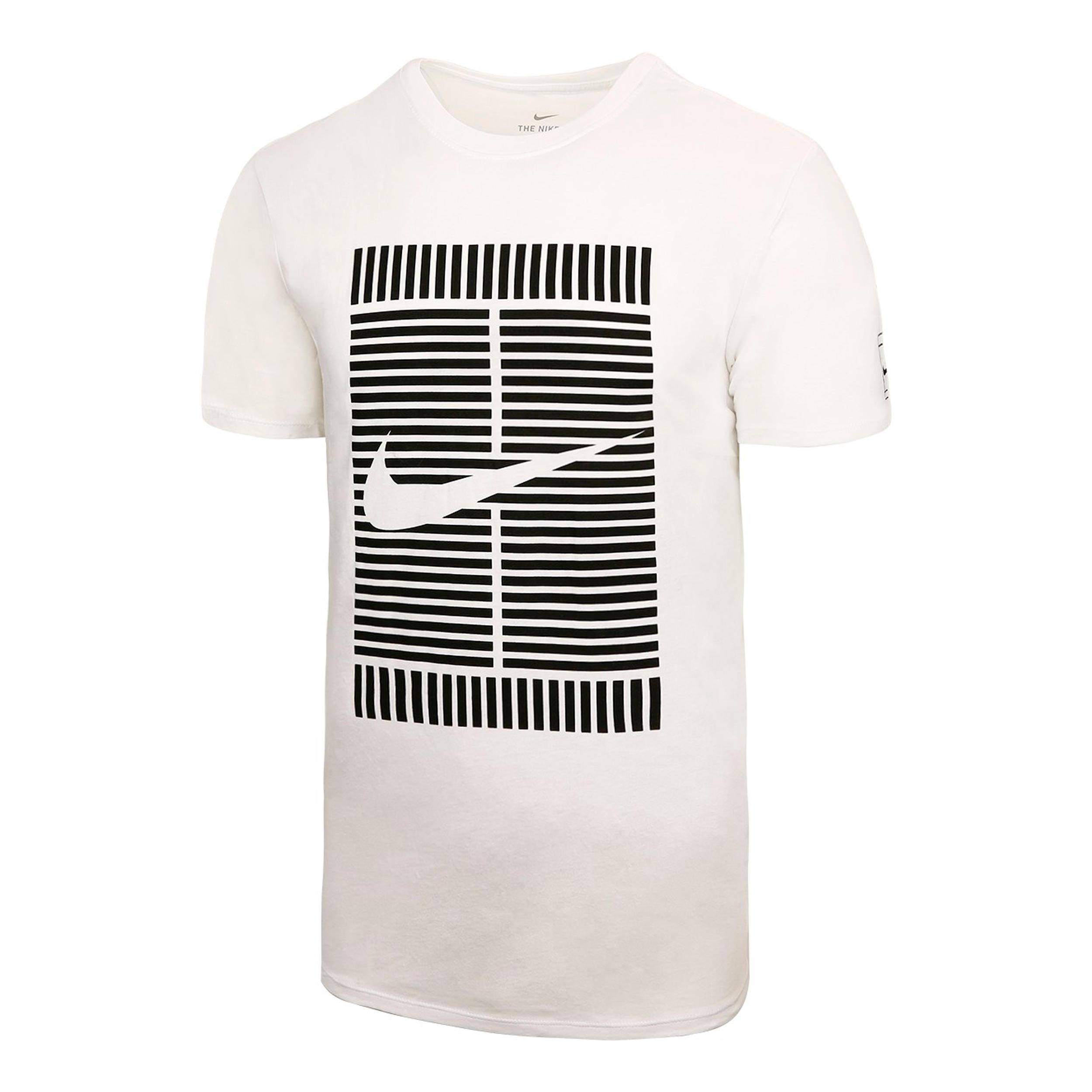 Nike Nike tennis T-shirt OZ wit